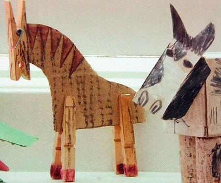 Лошадка своими руками поделка