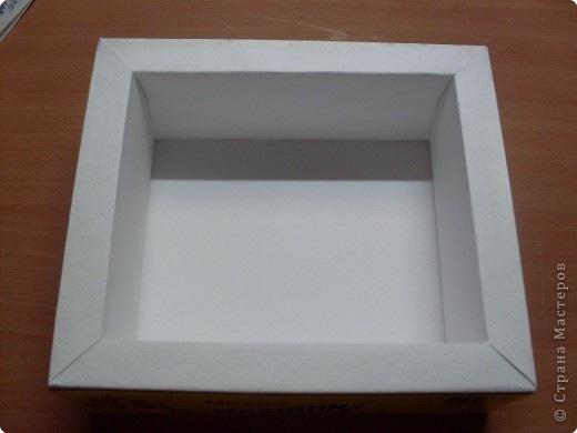 Фоторамка коробочка своими руками