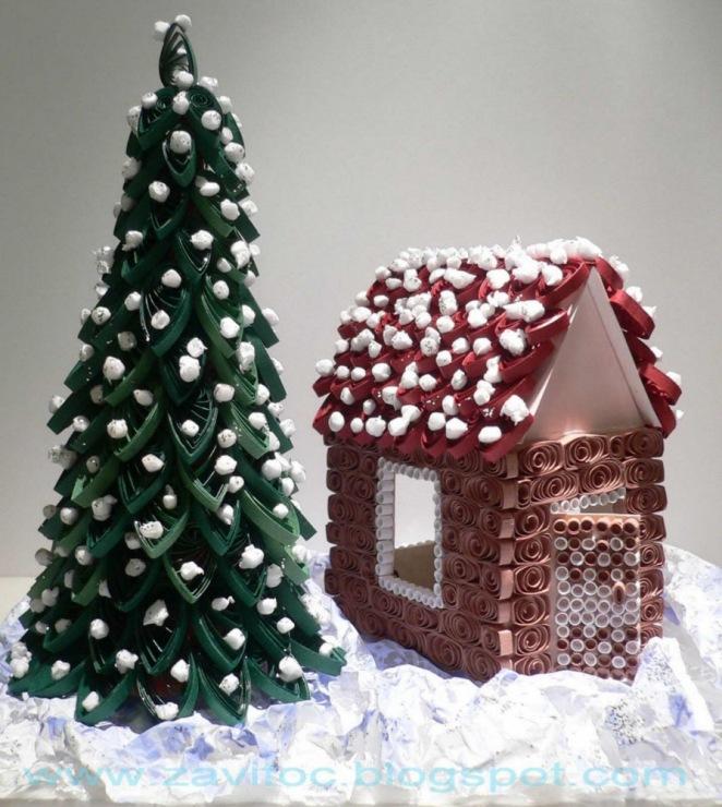 Красивые новогодние поделки своими руками в домашних условиях