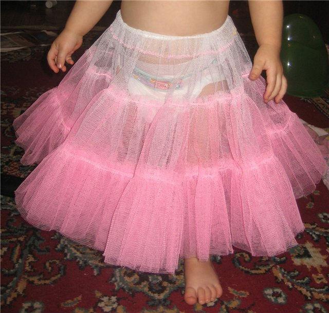 Как сшить юбку из фатина для девушки своими руками пошагово