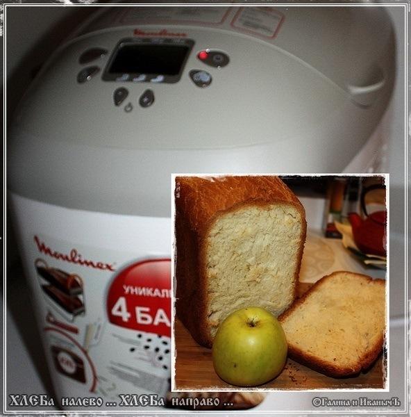 Рецепт хлеба в хлебопечке мулинекс фото