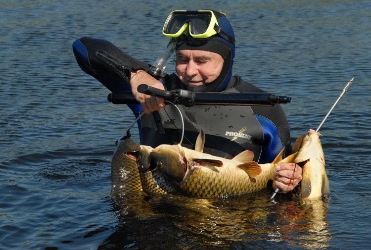 подводная охота и снасти для нее
