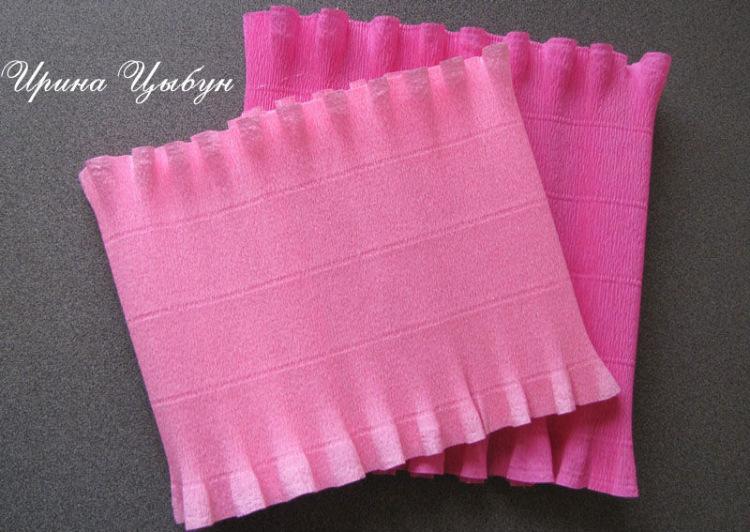 Как сделать из гофрированной бумаги юбку для 148