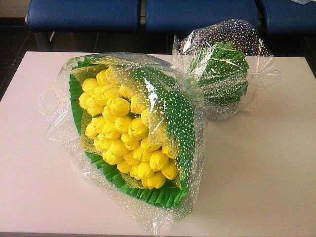 Букет из конфет для начинающих мастер класс
