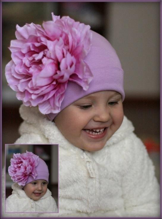 Цветки для шапочек своими руками 275