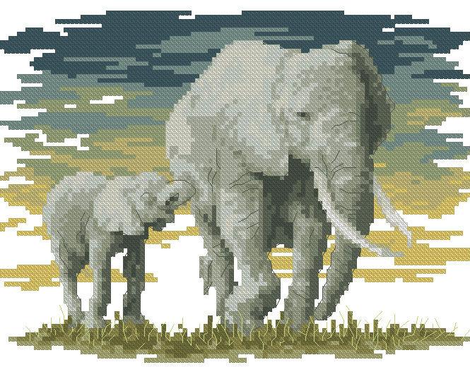 Семь слоников вышивка отзывы 97