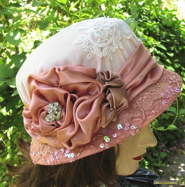Украсить шляпы своими руками 40