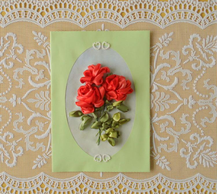 Тесьма для открытки
