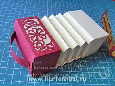 гармошка из бумаги как сделать