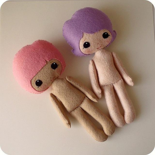 Куколки своими руками из фетра