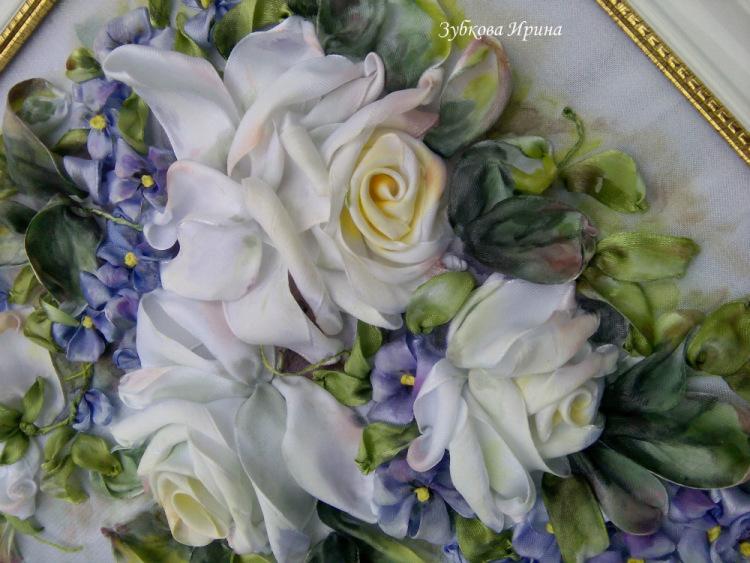 Ирина кириленко вышивка лентами 85