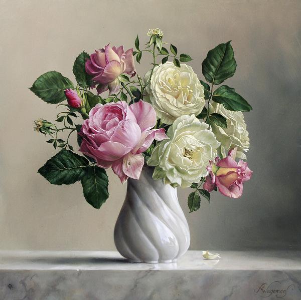 Фото красивых картин цветов