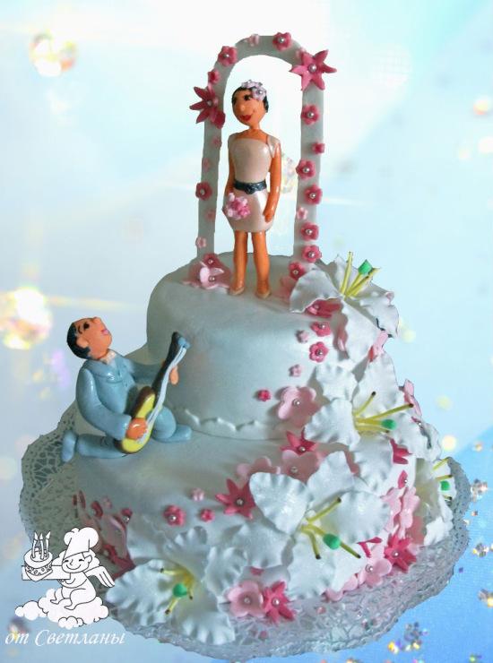Свадебный торт на заказ в воронеже фото