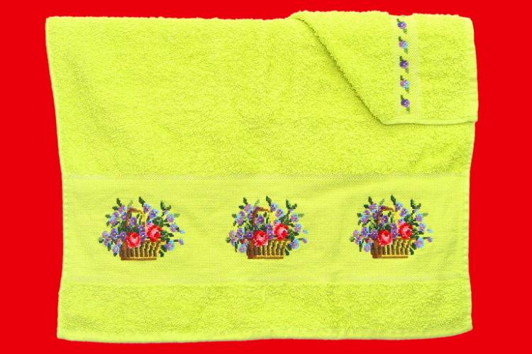 Вышивки для полотенца 43